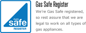 Gas Safe Registered